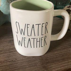 New Rae Dunn Sweater Weather Fall Coffee mug